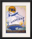 Trans-World Airlines 1934 Framed Giclee Print