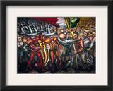 Siqueiros: Mural, 1950S Framed Giclee Print by David Alfaro Siqueiros