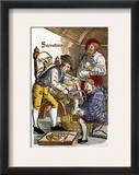 Amputation, 1540 Framed Giclee Print by Hans von Gersdorff