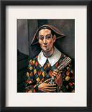Derain: Harlequin, 1919 Framed Giclee Print by Andre Derain
