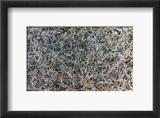 Pollock: Number 1 Gerahmter Giclée-Druck von Jackson Pollock