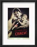 Soviet Poster, 1942 Framed Giclee Print by Viktor Koretsky