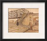 Van Gogh: Bridge, 1888 Framed Giclee Print by Vincent van Gogh