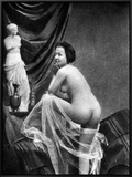 Nude Posing, 1855 Art by  Graf