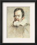 Galileo Galilei (1564-1642) Framed Giclee Print by Ottavio Leoni