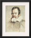 Galileo Galilei (1564-1642) Framed Giclee Print by Ottavio Leoni