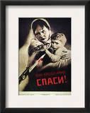 Soviet Poster, 1942 Framed Giclee Print by Viktor Koretsky