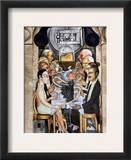 Rivera: Banquet, 1928 Framed Giclee Print by Diego Rivera