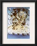 Galatea Of The Heavens Framed Giclee Print by Salvador Dali