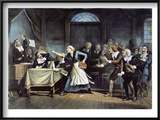 Witch Trial Art by George Walker