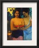 Gauguin: Two Women, 1899 Framed Giclee Print by Paul Gauguin