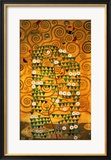 Sketch for the Stoclet Frieze (detail) Framed Giclee Print by Gustav Klimt