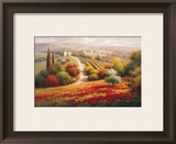 Vineyard View I Prints by Roberto Lombardi