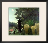 The Snake Charmer, 1907 (La Charmeuse Des Serpents) Framed Giclee Print by Henri Rousseau
