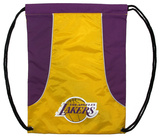 Los Angeles Lakers Axis - Yellow Drawstring Bag