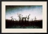 Abtei im Eichenwald, 1810 Gerahmter Giclée-Druck von Caspar David Friedrich