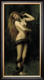 Lilith Framed Giclee Print by John Collier