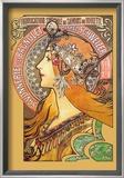 Savonnerie de Bagnolet Poster by Alphonse Mucha