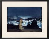 Summer Night, 1890 Framed Giclee Print by Winslow Homer