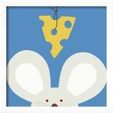 Kuckuck V - hier ist die Maus Kunstdrucke von Yuko Lau