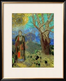 The Buddha, 1906-1907 Framed Giclee Print by Odilon Redon