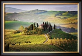 Belvedere Sunrise Tuscany Framed Giclee Print by Jim Nilsen