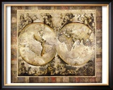 Old World Framed Giclee Print by Edwin Douglas
