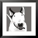 Bull Terrier Poster di Emily Burrowes
