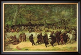 The Bear Dance Framed Giclee Print by William Holbrook Beard