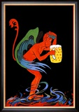 Biere au Diable Posters by Eugene Oge