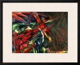 Fate of the Animals, 1913 Framed Giclee Print by Franz Marc