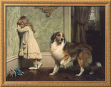 Special Pleader Framed Giclee Print by Charles Burton Barber