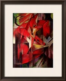 The Fox, 1913 Framed Giclee Print by Franz Marc