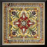 Italian Tile II Kunstdruck von Ruth Franks