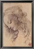 Kopf der Giovinetta Kunst von  Leonardo da Vinci