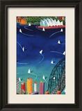 Hafen von Sydney|Sydney Harbour|Port Jackson Kunstdrucke von Ian Tremewen
