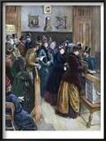 Women Voting, 1888 Prints
