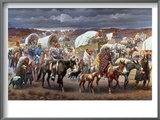 The Trail Of Tears, 1838 Prints by Robert Lindneux