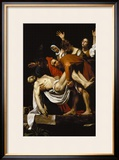 Deposition, 1602-4 Framed Giclee Print by Caravaggio 