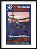 Trans-World Airlines 1950S Prints