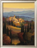 Hills of Chianti Framed Giclee Print by Max Hayslette