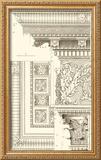 Corinthian Detail VI Framed Giclee Print by  Vision Studio