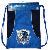 Dallas Mavericks Axis - Light Blue Drawstring Bag Drawstring Bag