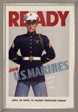 Join U.S. Marines Kunstdrucke von  Sundblom