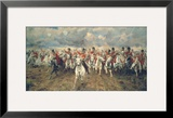 Scotland for Ever! Framed Giclee Print by Lady Butler