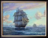 """Die """"Empress Of The Seas"""" Gerahmter Giclée-Druck von Roy Cross"""