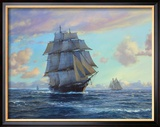 Empress Of The Seas Gerahmter Gicl&#233;e-Druck von Roy Cross
