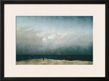Monk by Sea, 1809 Framed Giclee Print by Caspar David Friedrich