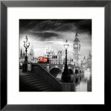 London Bus III Kunstdrucke von Jurek Nems