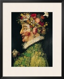 Spring, 1573 Framed Giclee Print by Giuseppe Arcimboldo